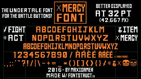 Undertale Frisk Mercy Iphone All Hp mercy font the undertale font for battle buttons by