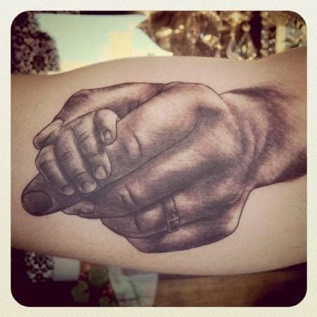 baby hand tattoos baby by megan hoogland tattoonow