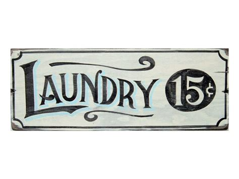 vintage laundry room signs rustic handmade sign laundry room vintage inspired