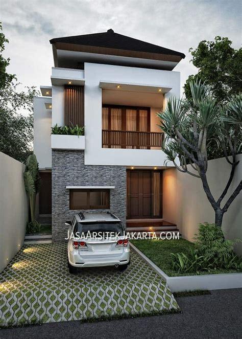 desain rumah 4 kamar luas 330 m2 jasa arsitek jakarta desain rumah luas 280 m2 bapak erik jakarta jasa arsitek