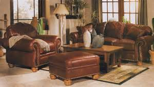 Leather Livingroom Sets by Mckinley Leather Living Room Set
