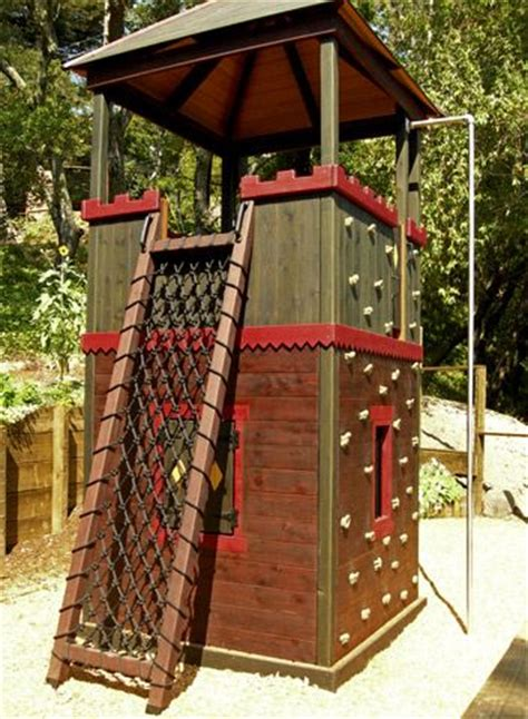 climbing structures backyard play structures the fortress and plays on pinterest