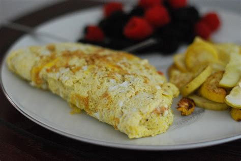 cottage cheese omelette trim healthy tuesday cottage cheese omelet s