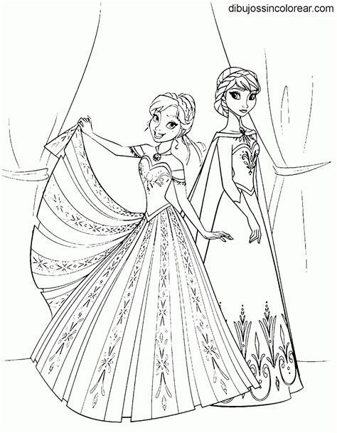 imagenes para colorear olaf dibujos de personajes de frozen princesas disney para
