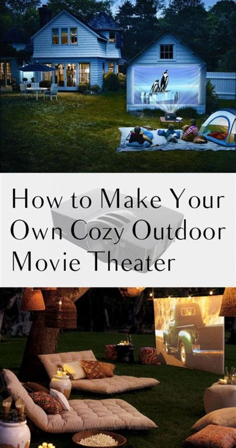 How To Make Your Own Vegetable Garden How To Make Your Own Cozy Outdoor Theater Growing