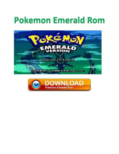 emerald 2 gba emulator - Emerald Rom For Android