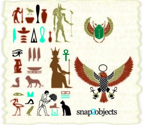 imagenes simbolos egipcios vectores egipcios fotos y vectores gratis