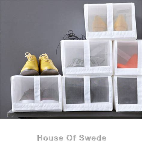 storage boxes for shoes ikea 4 ikea shoe storage box container shoes organiser skubb