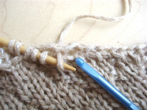 picking up stitches knitting picking up stitches how did you make this luxe diy
