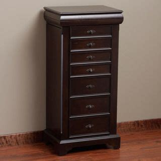 Pacconi Jewelry Armoire by Pacconi Handcrafted Locking Jewelry Armoire On