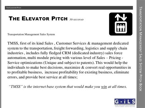 Sales Tmss Pitch Book 2 Sales Pitch Template