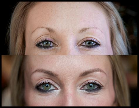 eye brow tattoo portland cosmetic portland wedding makeup artist
