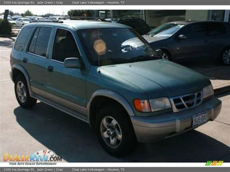 2000 kia sportage ex 2000 kia sportage ex jade green gray photo 12