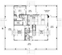Floor Plans With Porches by 653684 3 Bedroom 2 5 Bath Southern House Plan With Wrap
