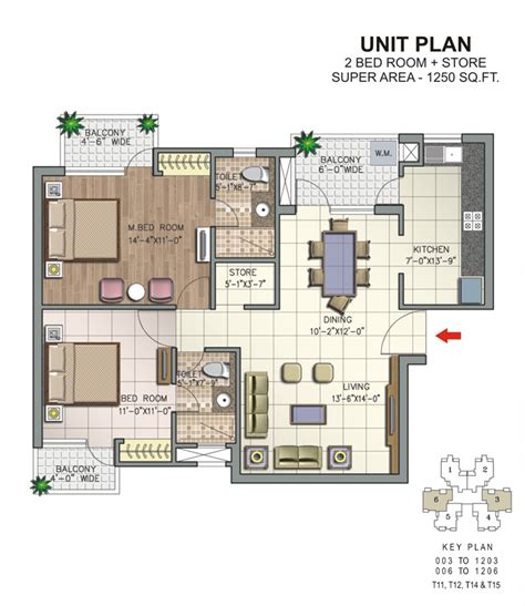 2bhk floor plans overview savitry greens at vip road zirakpur n k