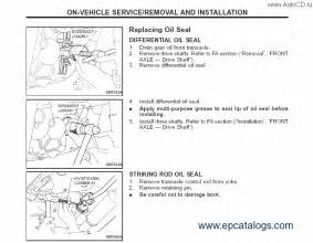 nissan tiida c11 repair manual cars repair manuals