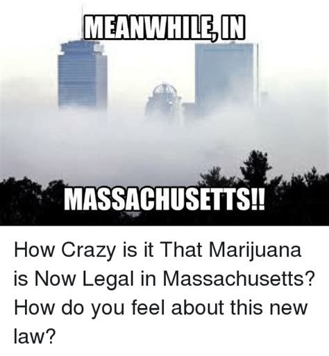 Massachusetts Meme - meanwhile in massachusetts how crazy is it that marijuana