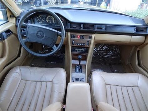 W124 Interior Colors by Youngtimer W124 Mercedes 300e Interior Review