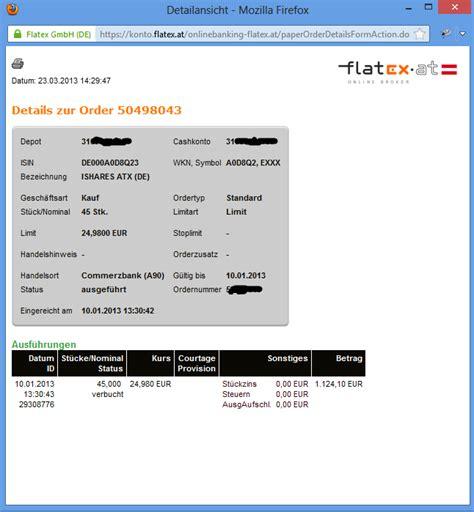 tarif banken depot ohne ordergeb 252 hren comdirect hotline