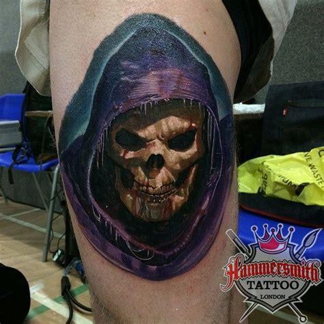 sureno tattoos paul saliba sureno colour realism skele by