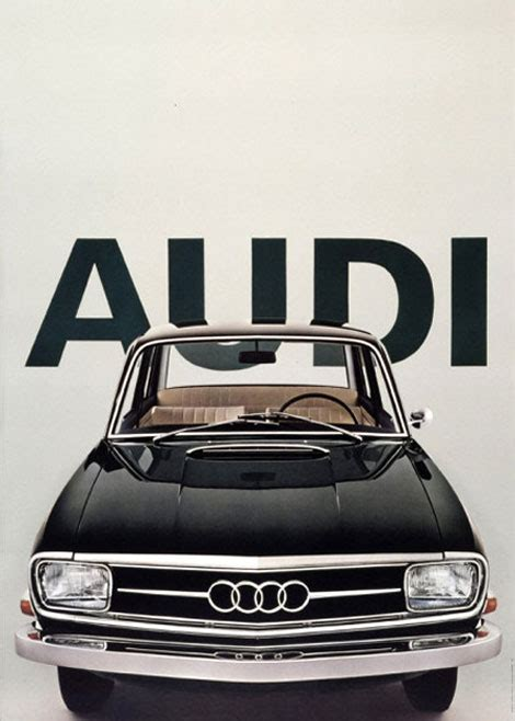 Audi Poster by Grain Editvintage Audi Poster