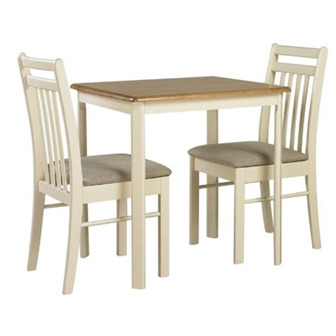 Ivory Dining Table And Chairs Ascot Solid Wood Ivory Kitchen Dining Table And 2 Chairs Find And Choose