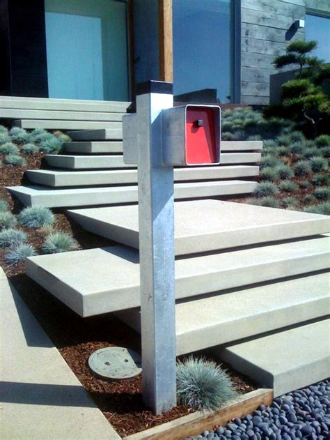 Entrance Stairs Design Modern Concrete Building Stairs 22 Ideas For Interior And Exterior Stairs Interior Design