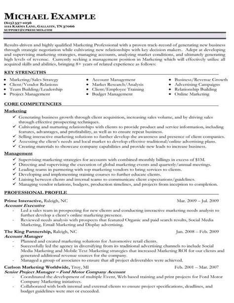 Sles Of Functional Resumes by Resume Sles Types Of Resume Formats Exles Templates