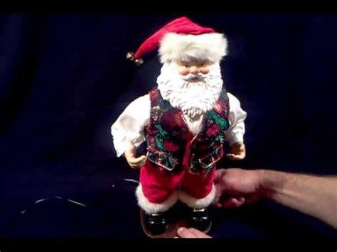 rockin santa christmas ringtones rockin around santa dances to brenda rockin around tree sold on ebay
