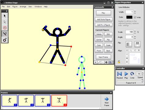 figure drawing software 3 free easy stick figure animation programs