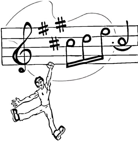 free coloring pages of music free printable music note coloring pages for kids