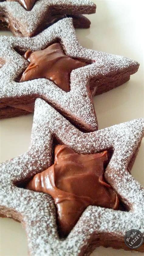 emel mutfakta trtl kurabiye ikolatal 231 ikolatalı yıldız kurabiye resimli yemek tarifleri