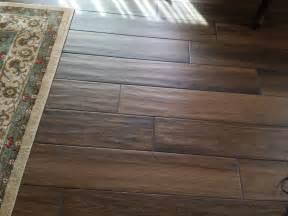 faux wood grain porcelain tile planks with shadow like