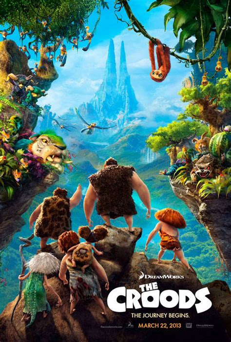 film cartoon the croods the croods and epic trailers and character designs from