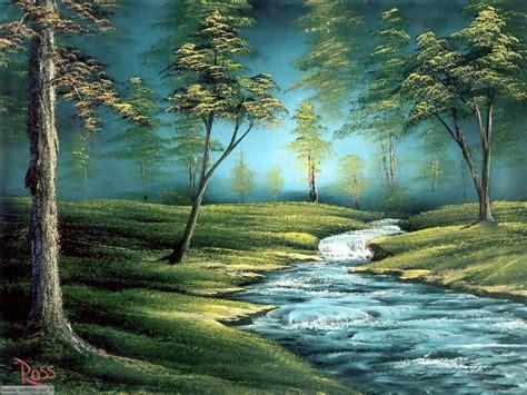 bob ross painting birds foto paesaggi dipinti per sfondi settemuse it