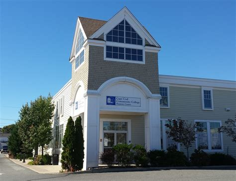 cape cod community college tuition downtown hyannis education center celebrates new name