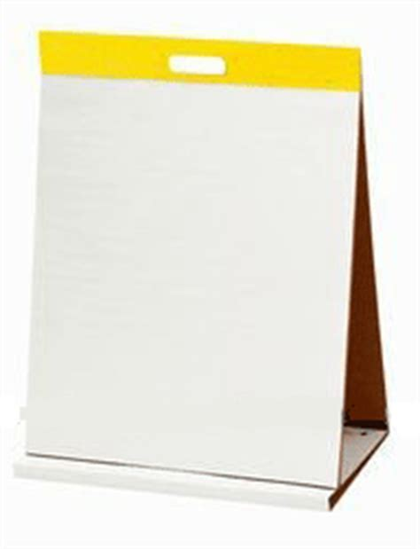 How To Make A Flip Chart With Paper - custom easel pads personalized grid easel and flip chart pads