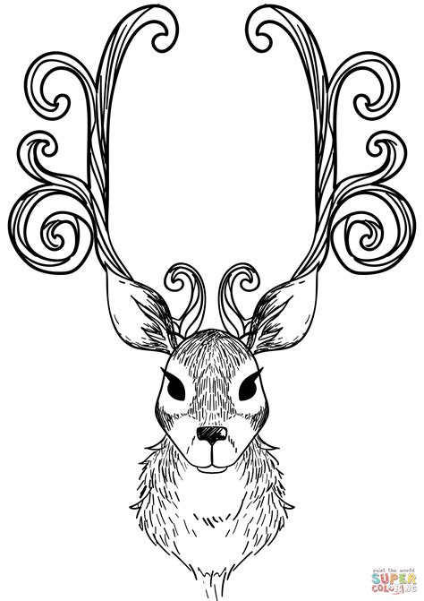 Reindeer Coloring Pictures by Reindeer Pictures To Color