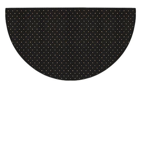 black hearth rug goods of the woods black solitude half olefin hearth rug 27 inch x 48 inch