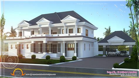 modern luxury home design kerala home design and - Modern Luxury House Designs