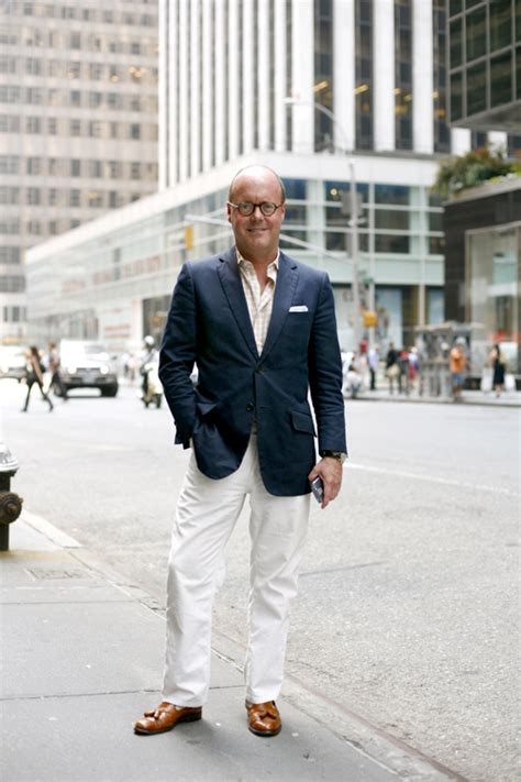 appropriate style for middle aged male on the street casual friday in midtown manhattan 171 the