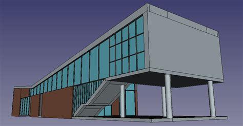 Simple House by Tutorial M 243 Dulo De Arquitectura Freecad Documentation