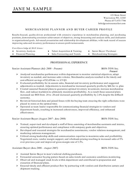 Profile Statement For Resume by Administrative Resume Profile Statement Exles