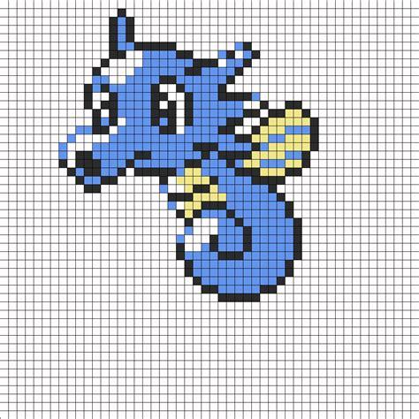 horsea sprite perler bead pattern bead sprites