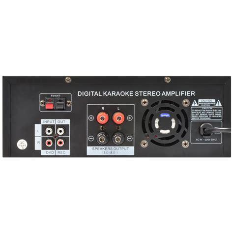 Skytronic Av 120fm Stereo Karaoke 2 X 60 Watt Fm av 120fm stereo karaoke verst 228 rker mp3 tronios