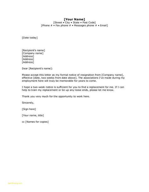 draft letter of resignation template draft letter of resignation template printable 30 luxury