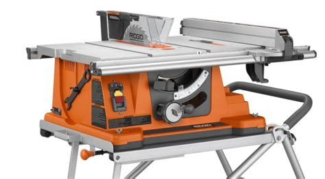 Ridgid Table Saw Review by Ridgid R4510 Heavy Duty Portable Table Saw Review 2017