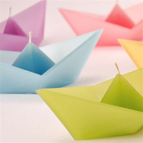 Origami Perahu Boat - of colorful origami boats 2016