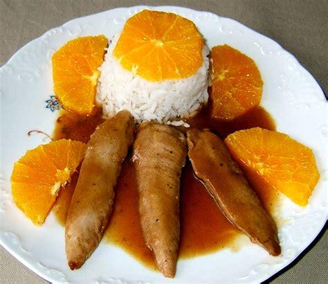 aiguillettes de canard 224 l orange ma cuisine sant 233