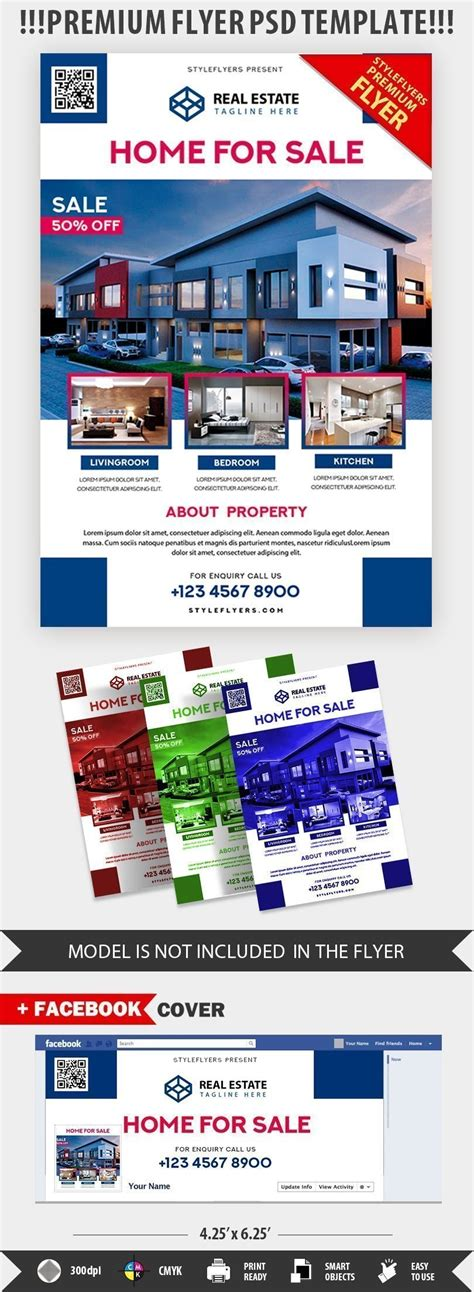 photoshop template real estate flyer real estate psd flyer template 20945 styleflyers